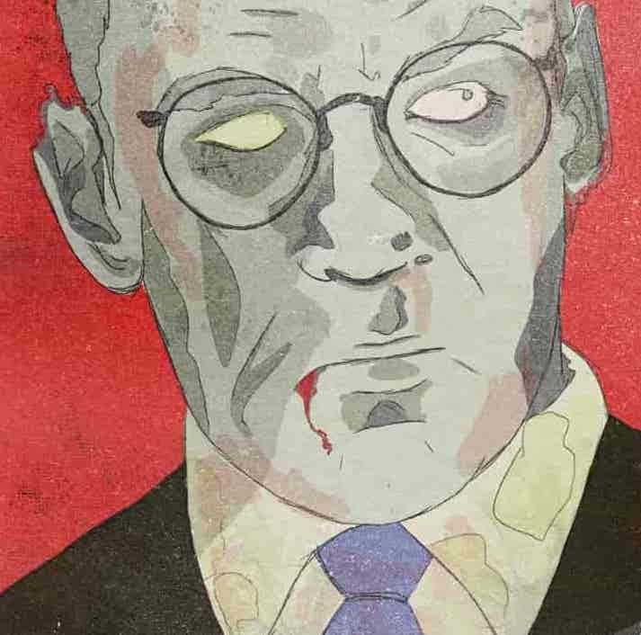 Fox & the Bureaucracy Zombie